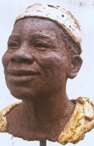 """Collectie beeldhouwwerk - thema """"Mens in Afrika"""""""